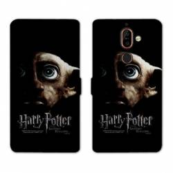 Housse cuir portefeuille Nokia 7 Plus WB License harry potter A