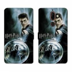 Housse cuir portefeuille Nokia 7 Plus WB License harry potter C