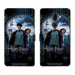Housse cuir portefeuille Nokia 7 Plus WB License harry potter D