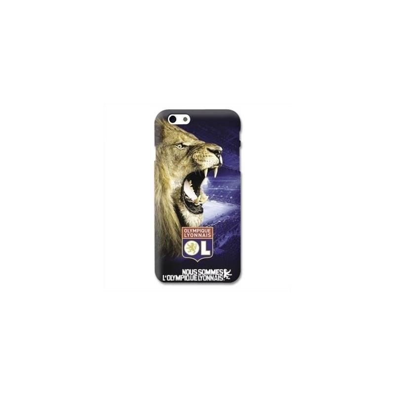 Coque Iphone 6 / 6s Licence Olympique Lyonnais - Rage de vaincre