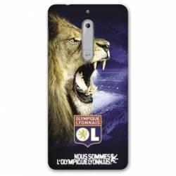 Coque Nokia 5 - N5 Licence Olympique Lyonnais - Rage de vaincre