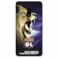 Coque Nokia 6 - N6 Licence Olympique Lyonnais - Rage de vaincre