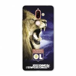 Coque Nokia 7 Plus Licence Olympique Lyonnais - Rage de vaincre
