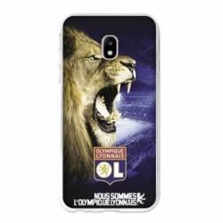 Coque Samsung Galaxy J3 (2017) - J330 Licence Olympique Lyonnais - Rage de vaincre