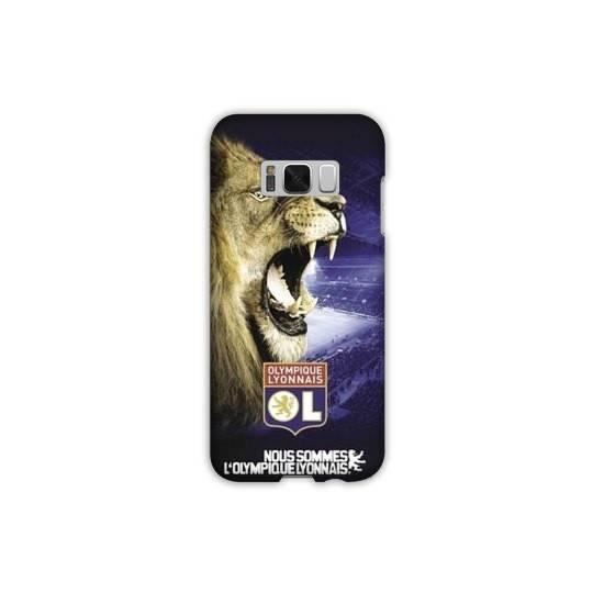 Coque Samsung Galaxy S8 Licence Olympique Lyonnais - Rage de vaincre