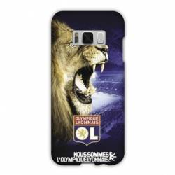 Coque Samsung Galaxy S8 Plus + Licence Olympique Lyonnais - Rage de vaincre