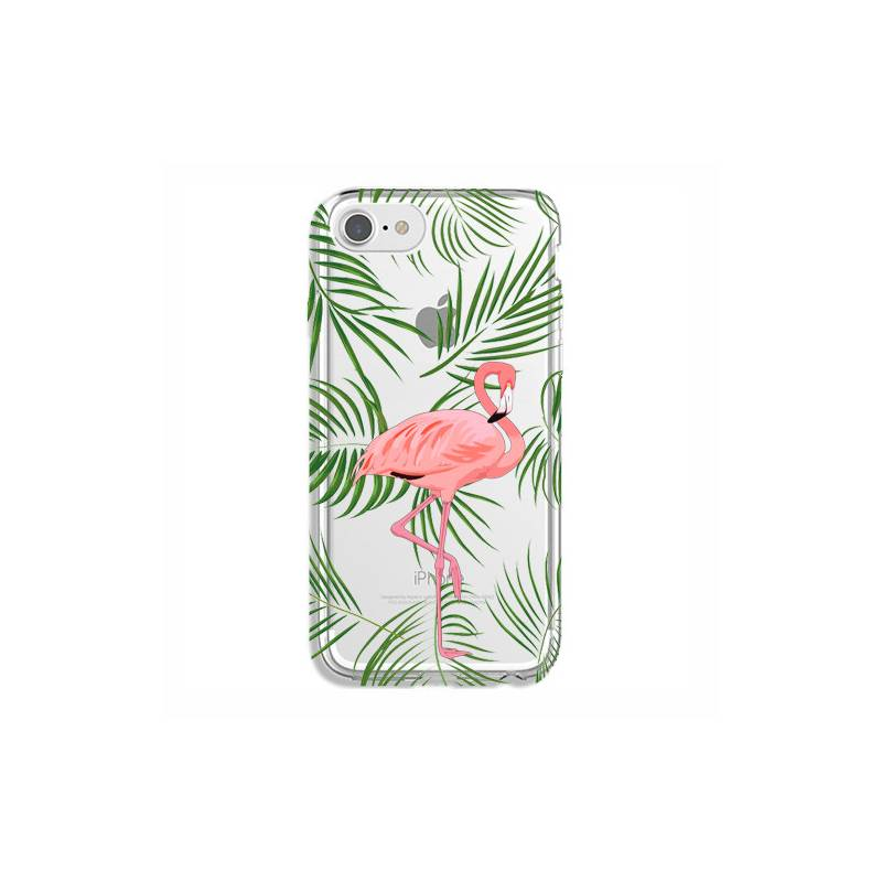 Coque transparente Iphone 6 / 6s Flamant Rose