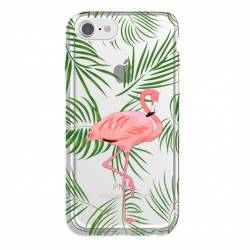 Coque transparente Iphone 7 / 8 Flamant Rose