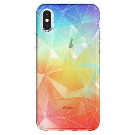 Coque transparente Iphone X Origami