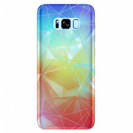 Coque transparente Samsung Galaxy S8 Plus + Origami