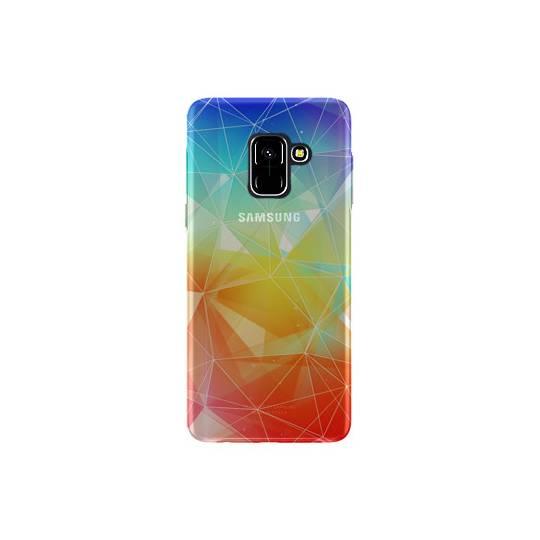 Coque transparente Samsung Galaxy S9 Origami