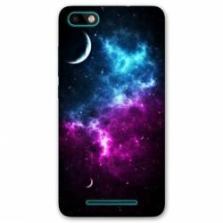 Coque Wiko Tommy3 / Tommy 3 Espace Univers Galaxie