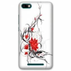 Coque Wiko Tommy3 / Tommy 3 fleurs