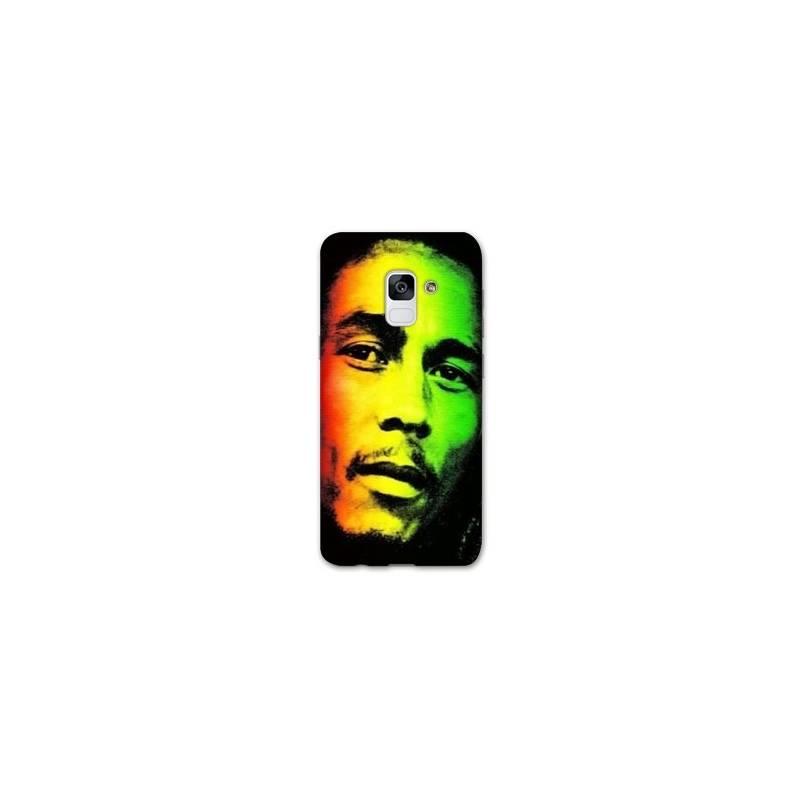 Coque Samsung Galaxy J6 (2018) - J600 Bob Marley