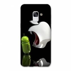 Coque Samsung Galaxy J6 (2018) - J600 apple vs android