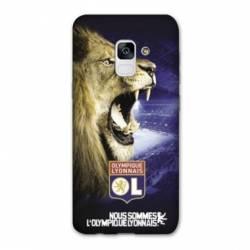 Coque Samsung Galaxy J6 (2018) - J600 Licence Olympique Lyonnais - Rage de vaincre