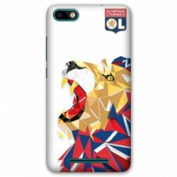 Coque Huawei Y5 (2018) License Olympique Lyonnais OL - lion color