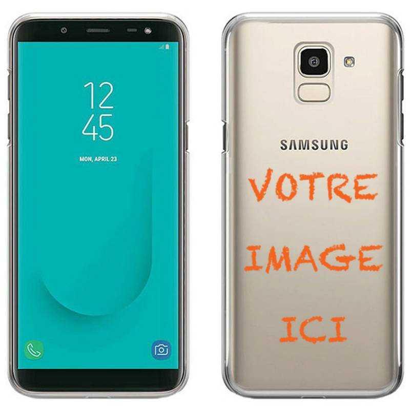 Coque transparente Samsung J6 (2018) - J600 personnalisee