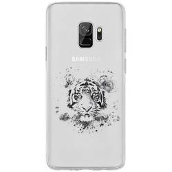 Coque transparente Samsung Galaxy J6 (2018) - J600 tigre