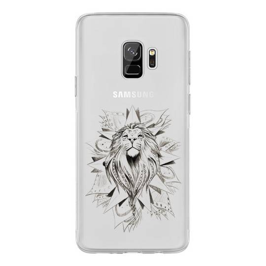 Coque transparente pour Samsung Galaxy J6 (2018) - J600 lion