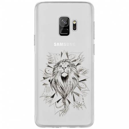 Coque transparente Samsung Galaxy J6 (2018) - J600 lion