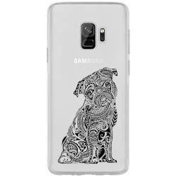 Coque transparente Samsung Galaxy J6 (2018) - J600 chien