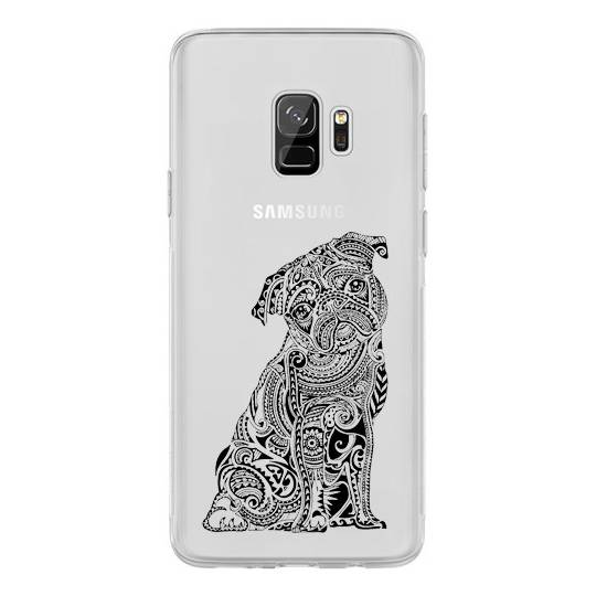 Coque transparente pour Samsung Galaxy J6 (2018) - J600 chien