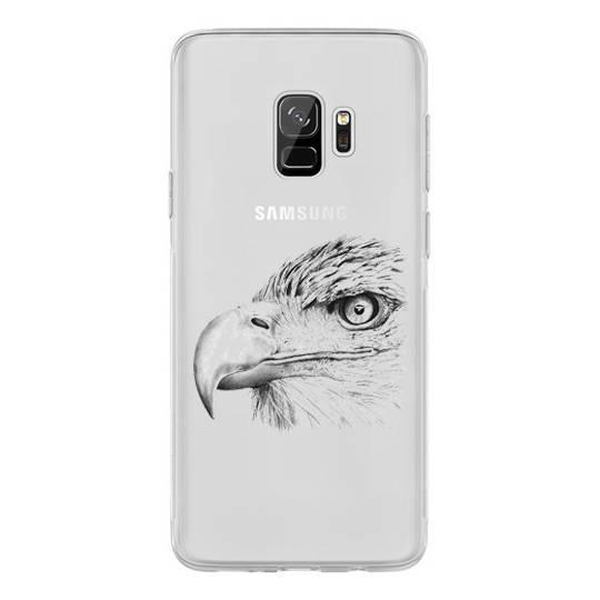 Coque transparente pour Samsung Galaxy J6 (2018) - J600 aigle