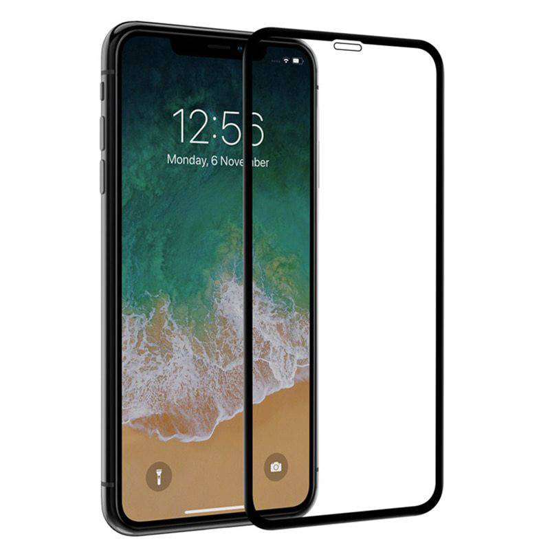 Vitre protection / Verre trempé incurvé 3D Iphone XS Max