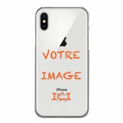 Coque transparente iPhone XS Max personnalisee