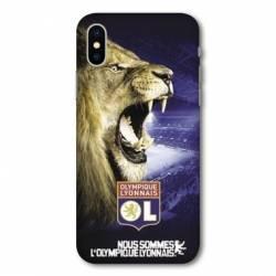 Coque Iphone XS Licence Olympique Lyonnais - Rage de vaincre