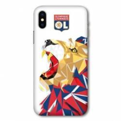 Coque Iphone XS License Olympique Lyonnais OL - lion color