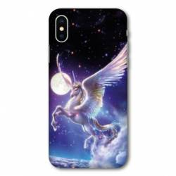 Coque Iphone XS Licorne