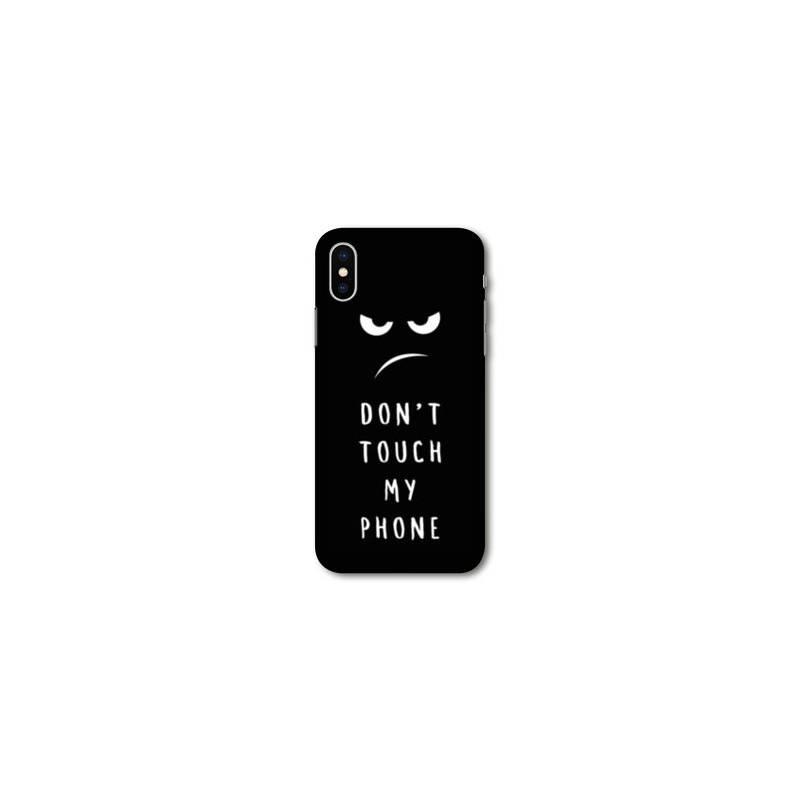 coque iphone xr transparente humour