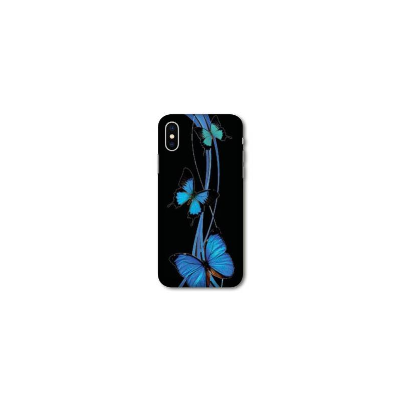 coque iphone xr papillon