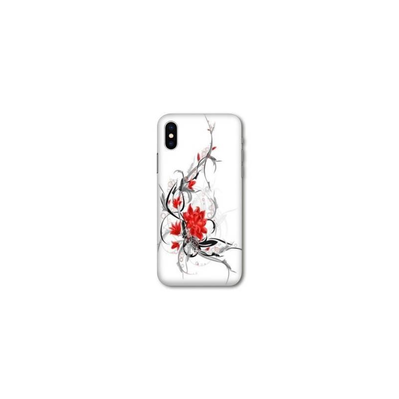 coque iphone fleurs xr