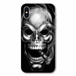Coque Iphone XS tete de mort