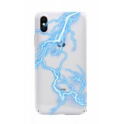 Coque transparente Iphone XS eclair