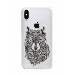 Coque transparente Iphone XS loup