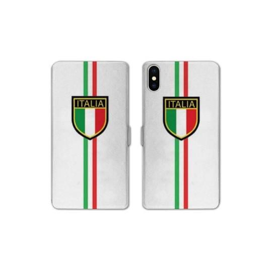 RV Housse cuir portefeuille Iphone XR Italie