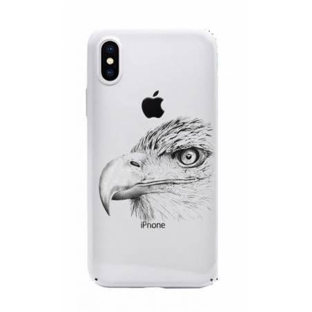 Coque transparente Iphone XS Max aigle