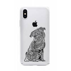 Coque transparente Iphone XS Max chien