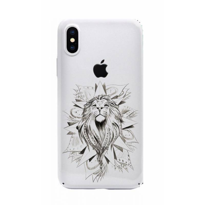 Coque transparente Iphone XS Max lion