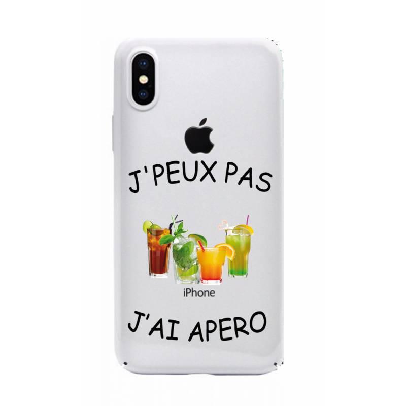 Coque transparente Iphone XS Max jpeux pas jai apero