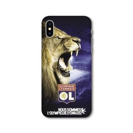 Coque Iphone XS Max Licence Olympique Lyonnais - Rage de vaincre