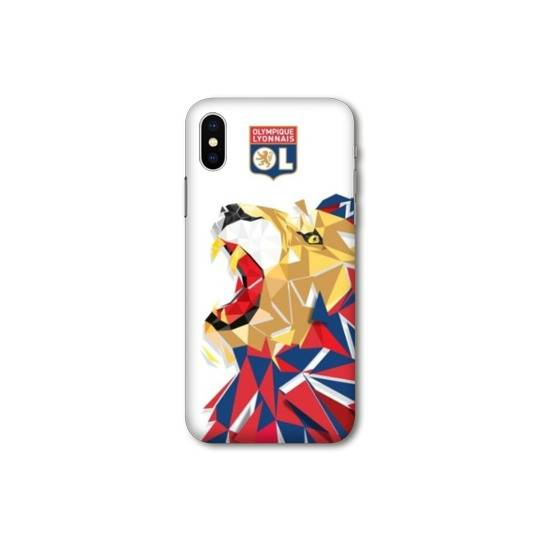 Coque Iphone XS Max License Olympique Lyonnais OL - lion color