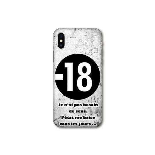 Coque pour iphone XS Max Humour