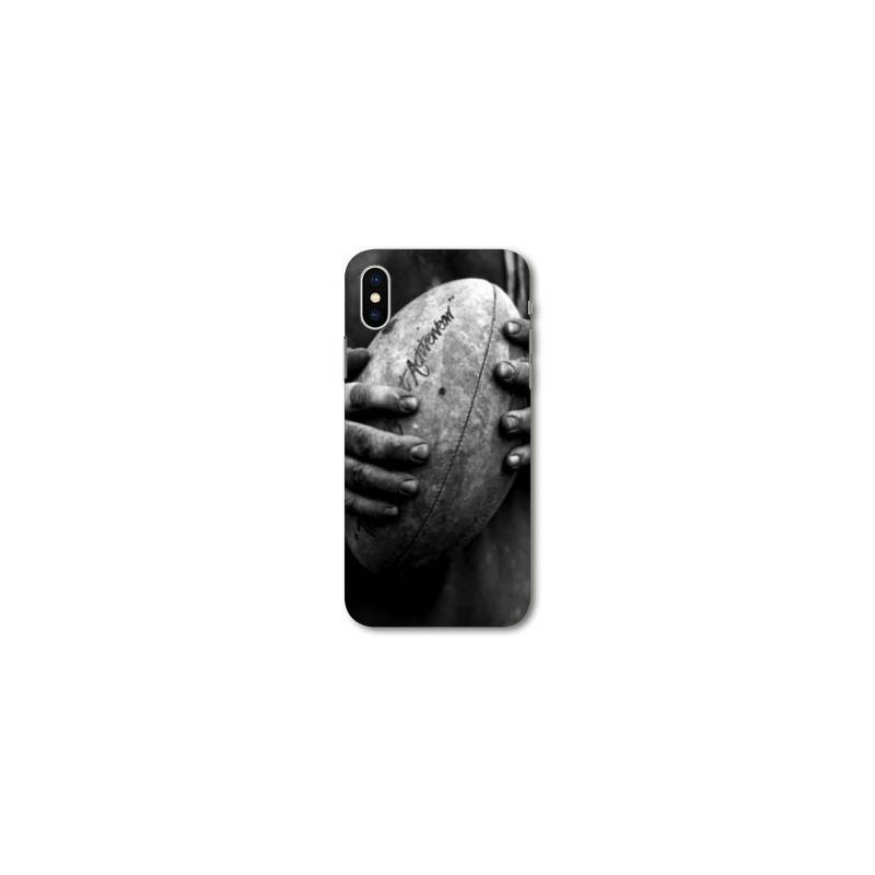 Coque pour iphone XS Max Rugby