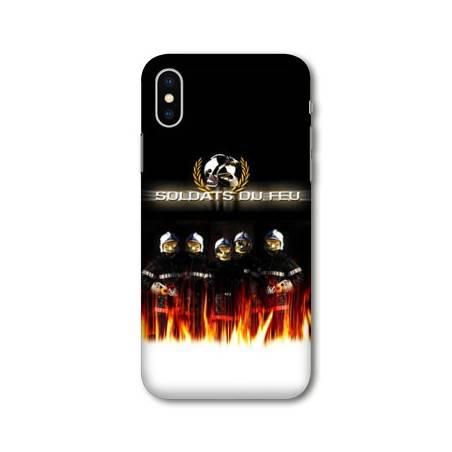 Coque Iphone XS Max pompier police