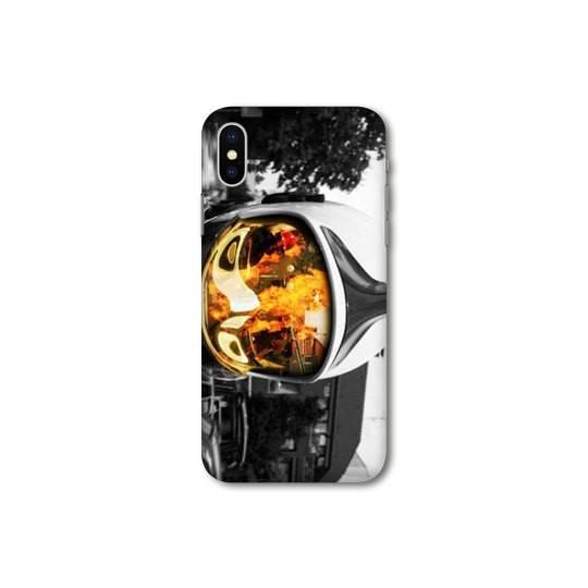 Coque pour iphone XS Max pompier police